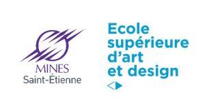 Logo Mines St Etienne et Ecole Supérieur d'art et design