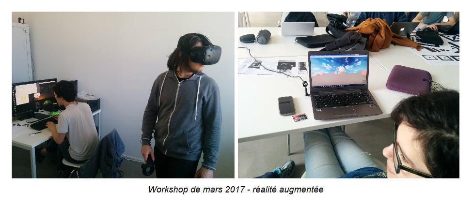Workshop de mars 2017 - réalité augmentée